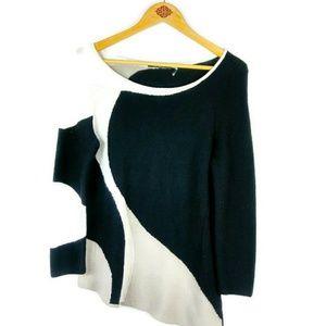 NIC+ZOE Knit Top Asymmetrical Gorgeous